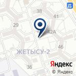 Компания Алматы Азык на карте