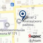 Компания ТемирГаз, КСК на карте