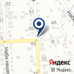 Компания Алматы-Такси на карте
