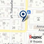 Компания Нотариус Кудайбергенова И.М. на карте
