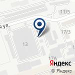 Компания Берк на карте