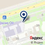 Компания Алматинский колледж сервисного обслуживания на карте