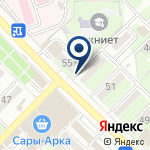 Компания Служба заказа водителя без автомобиля на карте
