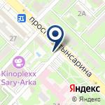 Компания Сеть баров по продаже кислородных коктейлей на карте