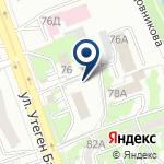 Компания Отдел полиции, УВД Алмалинского района ДВД г. Алматы на карте