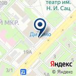Компания D-fitness на карте