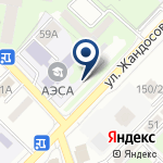 Компания Алматинский колледж экономики и статистики на карте