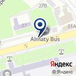 Компания Транспортный холдинг г. Алматы, ТОО на карте