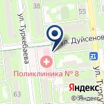 Компания Городская поликлиника №8 на карте