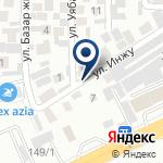 Компания InterFlash Almaty на карте