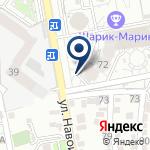 Компания Первая кроватка Алматы на карте