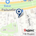 Компания Уримчи на карте