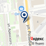 Компания Лапа на карте