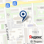Компания УВД Бостандыкского района г. Алматы на карте
