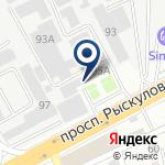 Компания ЦеЛСИМ, ТОО на карте