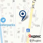 Компания Нурлытау, почтовое отделение связи на карте