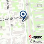 Компания Сеть Казахстан на карте