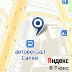 Компания Салем на карте