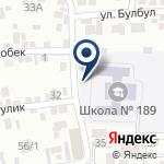 Компания Средняя школа №189 на карте