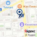 Компания Алматытелеком на карте