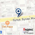Компания Ассоциация кооперативов собственников квартир г. Алматы на карте
