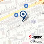 Компания Алматыжилстрой на карте