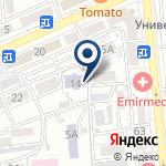 Компания Плёнки.kz, ТОО на карте