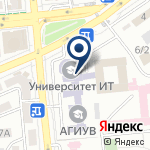 Компания Казахский медицинский университет непрерывного образования на карте