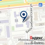 Компания Гимназия №105 им. Ораза Жандосова на карте