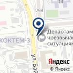 Компания Департамент по чрезвычайным ситуациям г. Алматы на карте