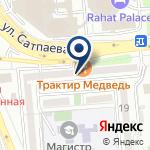 Компания Cadillac Almaty на карте