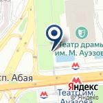 Компания Станция Театр им. Ауэзова на карте