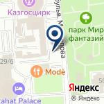 Компания SOVA на карте