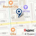 Компания Казахстан Финанс Надзор, ТОО на карте