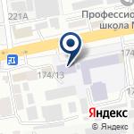 Компания Алматинский колледж моды и дизайна на карте