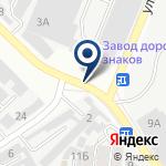 Компания Казполиснаб, ТОО на карте
