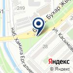 Компания КазТехноPol Алматы на карте