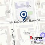 Компания Bushinkai Kazakhstan на карте