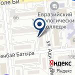 Компания Нотариус Худайбергенова А.Т. на карте