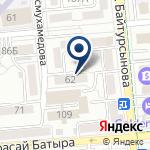 Компания Отделение административной практики ОАП Алмалинского района г. Алматы на карте