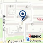 Компания Ерке на карте