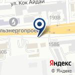 Компания УВД Жетысуского района г. Алматы на карте