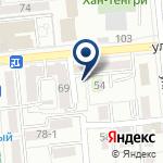Компания Akzhol turizm на карте