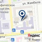 Компания Алматинский государственный бизнес-колледж на карте