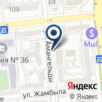 Компания Казахстанское агентство ГИС и ДЗ, ТОО на карте