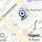 Компания Центр обслуживания населения Медеуского района г. Алматы на карте