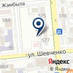 Компания Алмалинский районный отдел занятости и социальных программ на карте