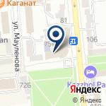 Компания Государственный Республиканский уйгурский театр музыкальной комедии им. К. Кужамьярова на карте