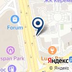 Компания Изостудия в ЖК Керемет на карте