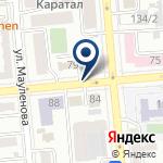 Компания Петрокоммерц Казахстан на карте